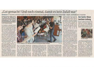 2015.10.01_Vorankündigung Abschiedskonzert Eichenlaub_Die Rheinpfalz