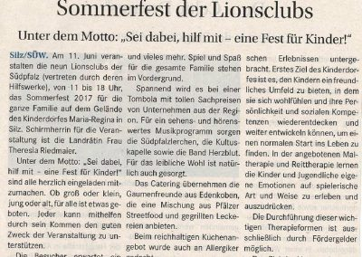 2017.06.08_Sommerfest Lionclubs_Trifels Kurier
