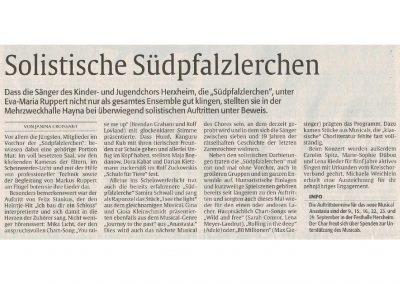 2018.03.14_Die junge Stimme_Die Rheinpfalz