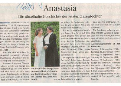 2018.08.22_Vorankündigung Anastasia_Wochenblatt