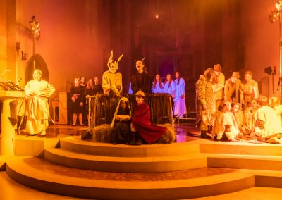 2019.12.15 Singen und Musizieren unter dem Adventskranz